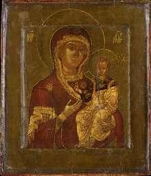 Gottesmutter von Smolenksk, Russland, 17. Jh., Foto Stefan Rohner