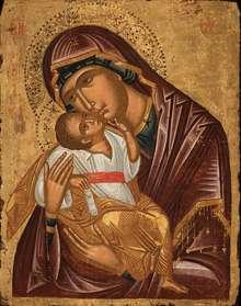 Gottesmutter Glykophilousa, Kreta, um 1600