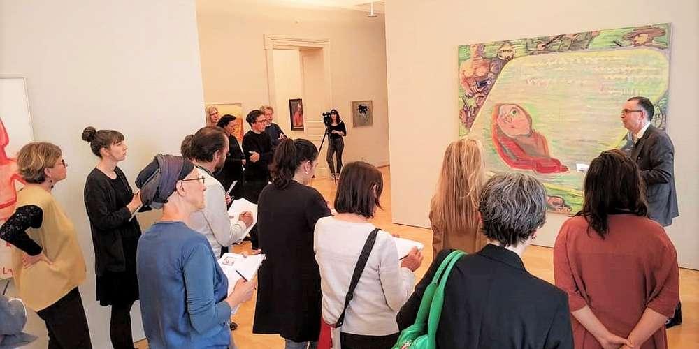 Presserundgang im Kunstmuseum St.Gallen