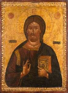 Christus Pantokrator, Griechenland, 17. Jahrhundert