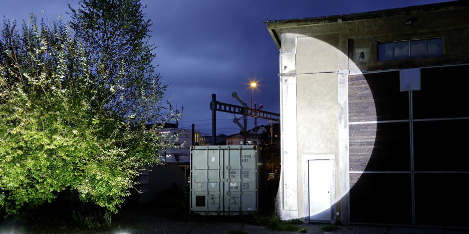 Installationsansicht Lokremise St.Gallen, Foto Stefan Rohner