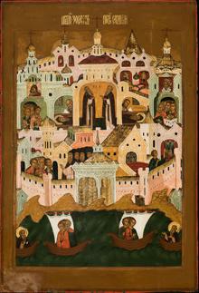 Die Heiligen Zosima und Savvatij, Russland, 17. Jahrhundert, Foto Sebastian Stadler