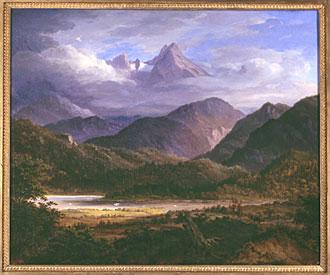Landschaftsmalerei realismus  Malerei im 19. Jahrhundert – Kunstmuseum St.Gallen